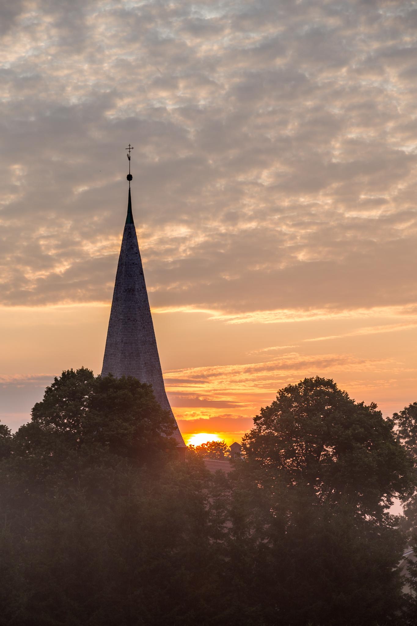 Wieża kościoła w Mątowach Wielkich